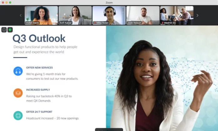 Zoom video meeting for Best Conference Call Services