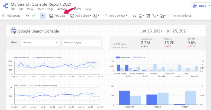 How to Use Google Data Studio to Improve Your Data - Add Data Sources