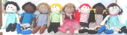 bonecas escola