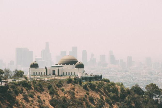 Griffith Observatory Hollywood California