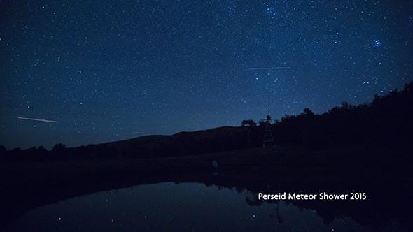 Perseid Meteor Shower Utah