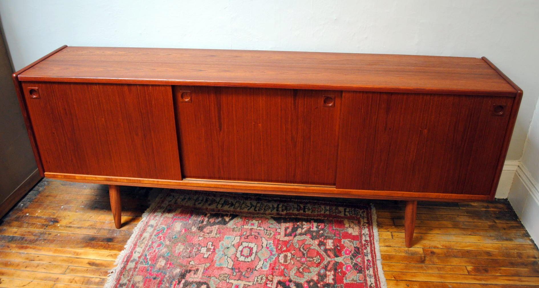 1960s Danish Credenza : Sold oak sideboard credenza s danish u sweden antique