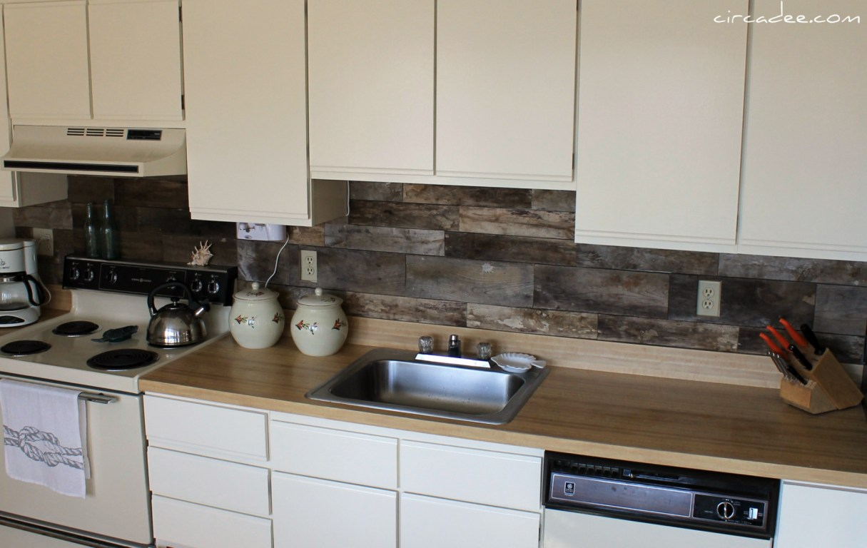 Backsplash Follow Up Part 2: Pallet Wood