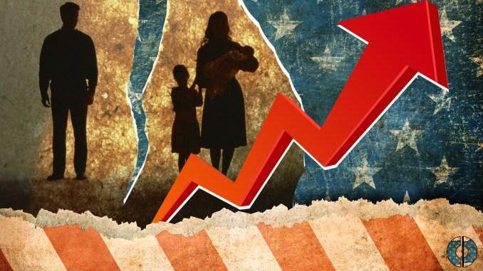 divorce religious rise