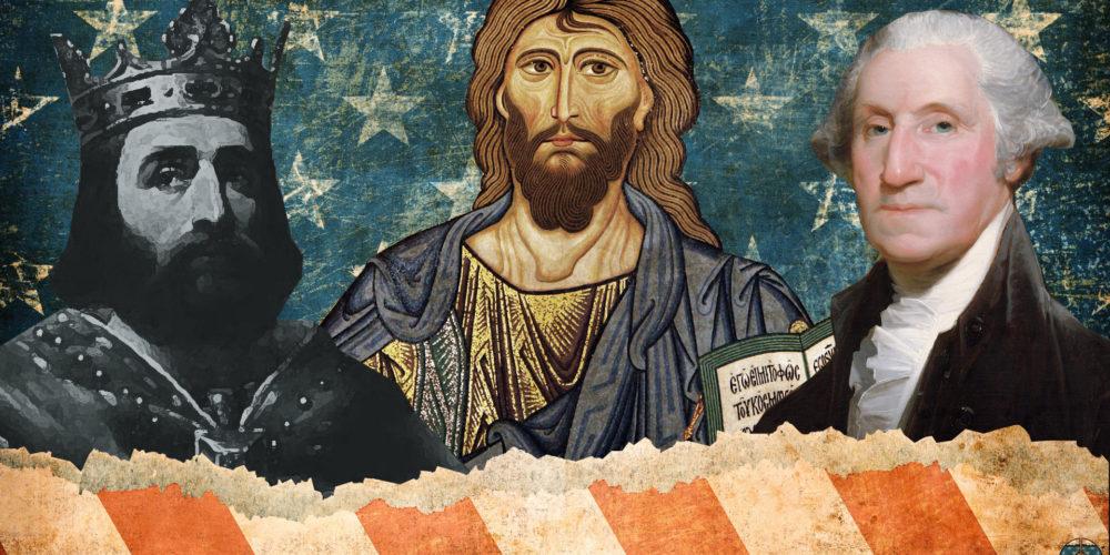 Jesus Charles Martel George Washington Circa Deum Greatest Men