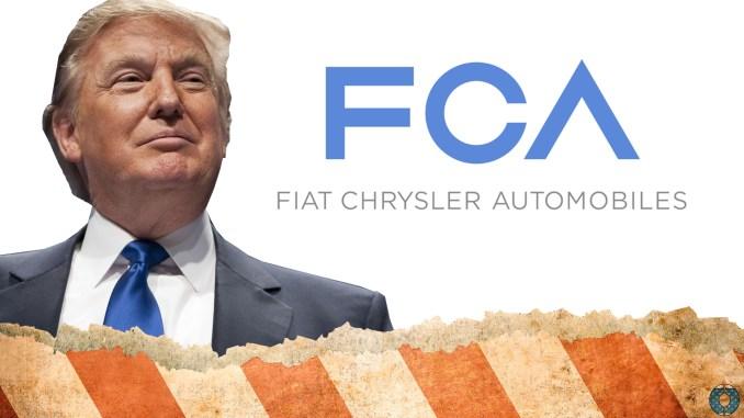 Fiat Donald Trump Chrysler