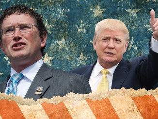 Thomas massie Donald Trump United Nations amexit
