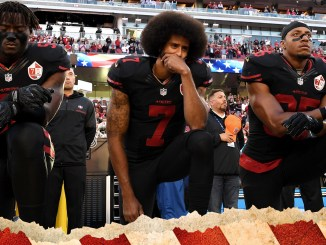 colin kaepernick take a knee