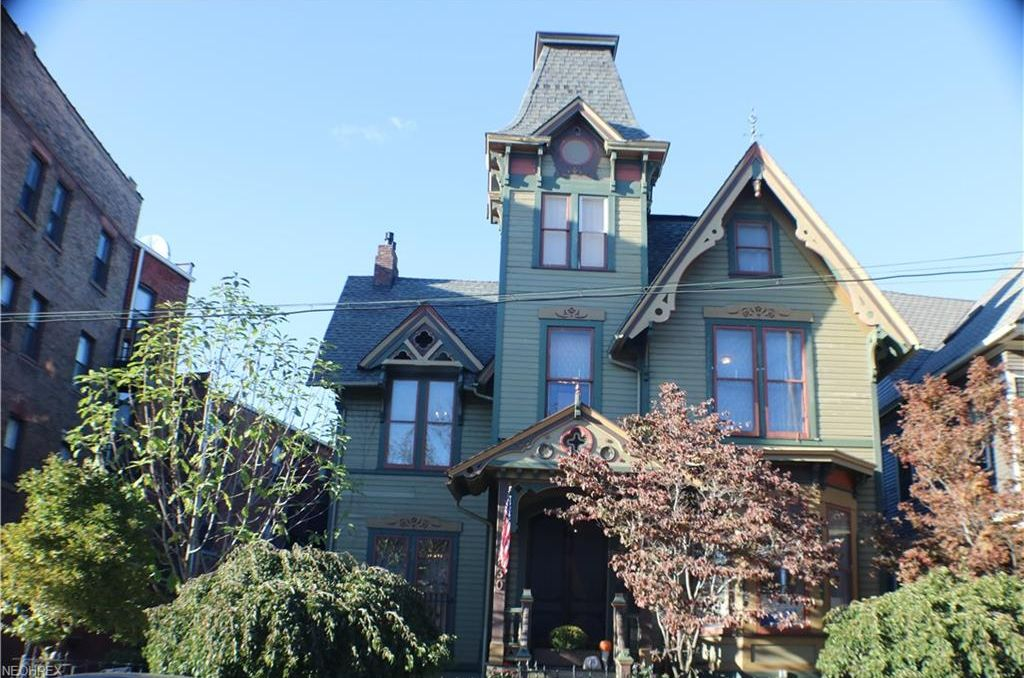 1872 Second Empire House In Cleveland Ohio