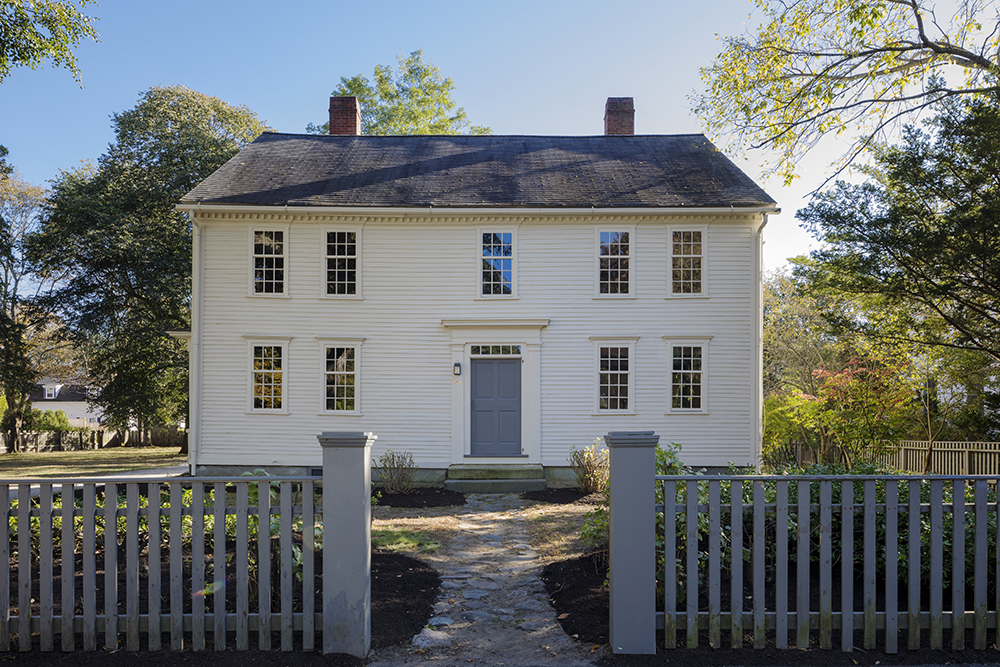1767 Samuel Jones House In Concord Massachusetts