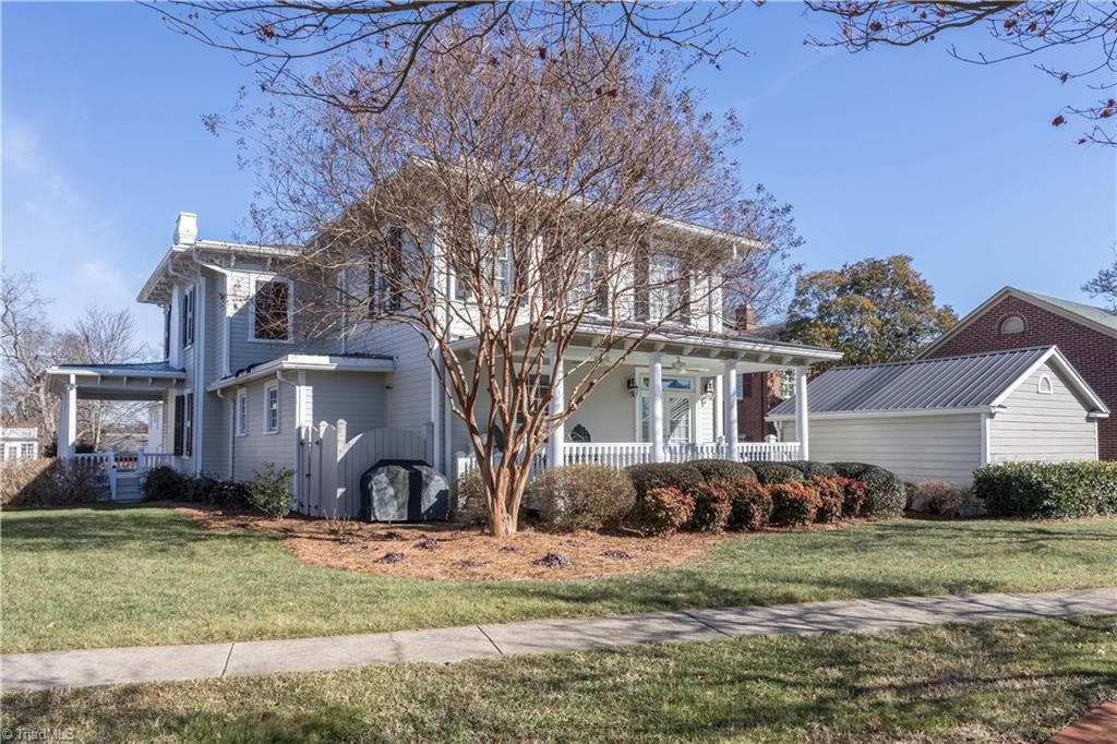 North Carolina 1854 Greek Revival