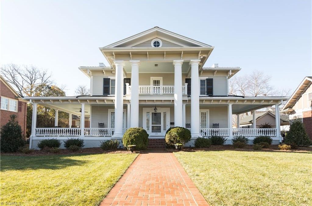 1854 Greek Revival In Lexington North Carolina