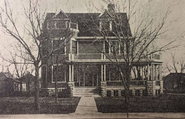 Kansas 1907 Neoclassical Fixer Upper