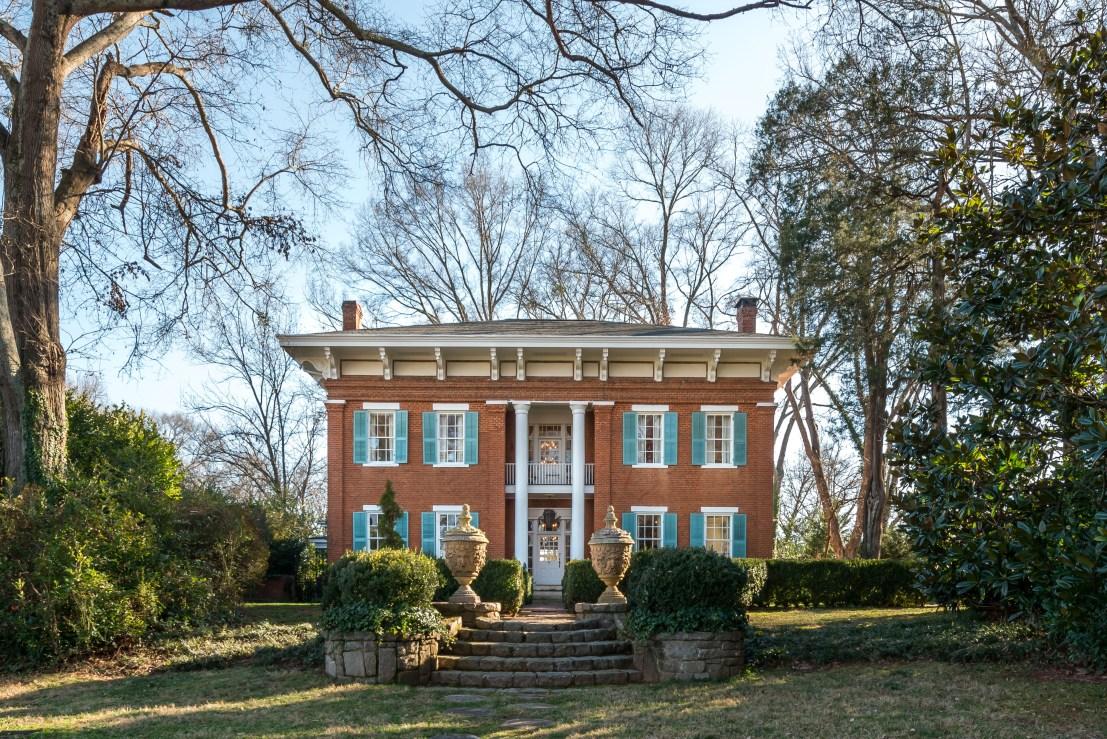 1838 Italianate In Covington Georgia