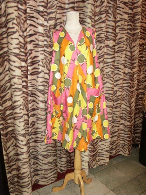 Early 1960s swing dress