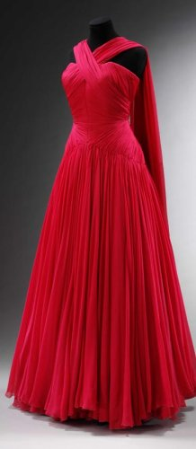 50s Jean Desses evening gown