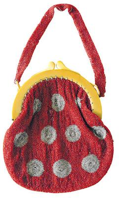 Darnell Collection beaded 30s bag