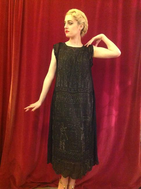 1920s beaded dress