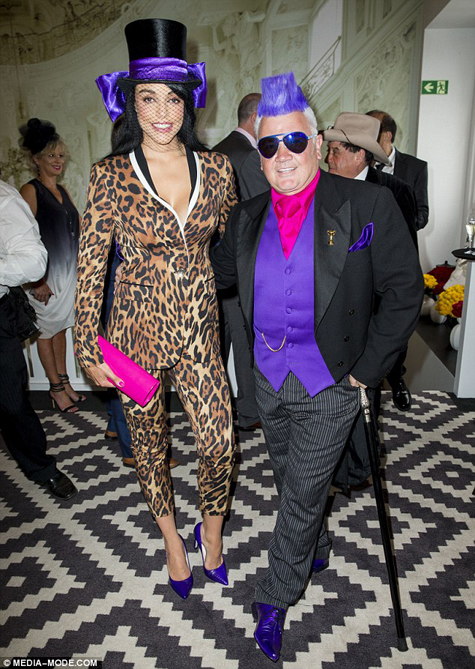 Darryn Lyons and Elissa Friday pic by Media-Mode