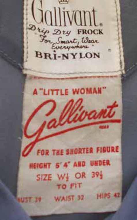 Gallivant label 1950s