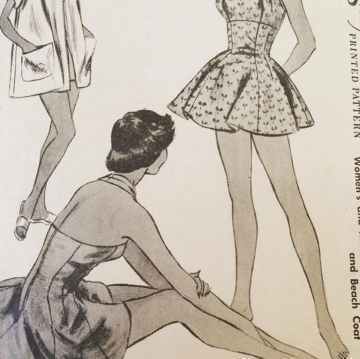 Vogue pattern 3