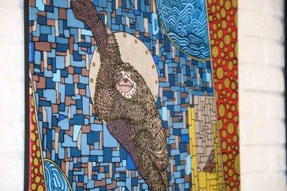 Peinture d'un paresseux réalisé par Zaar