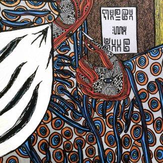 Le livre de Zaar peinture sur toile XL. Rouen Galerie d'art rn ligne