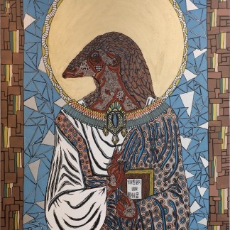 Saint pangolin livre de zaar ainsi peignait