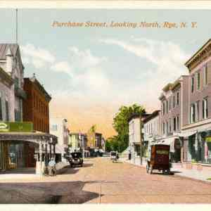 #2099 Purchase Street looking North, Rye 1920