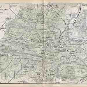 #2444 Fontainebleau (Paris), France 1896