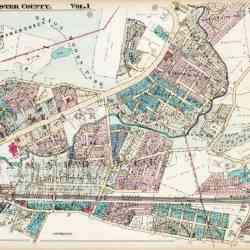 antique map mamaroneck