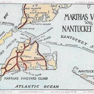 #2698 Martha's Vineyard & Nantucket Islands, 1937