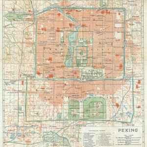 #3565 Peking (Beijing), China 1924