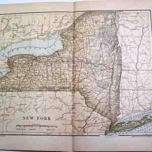 #3636 New York State, 1892