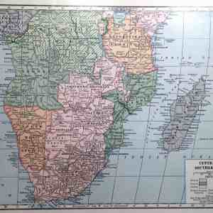 #4051 Central and Southern Africa, circa 1920