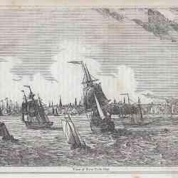 View of New York City 1874