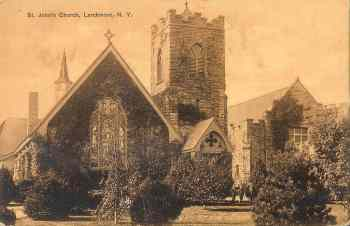 vintage postcard larchmont