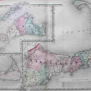 #F105 Cape Cod, Martha's Vineyard & Nantucket 1871