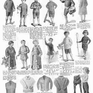 #278 Harrod's Boys' Clothing, 1914