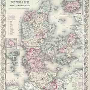 #3962 Denmark, 1874