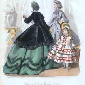 #888 Journel del Demoiselles 1864