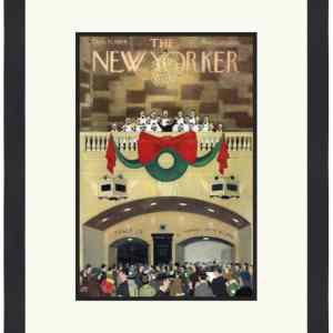 Original New Yorker Cover December 11, 1954