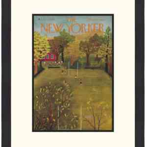 Original New Yorker Cover October 4, 1952