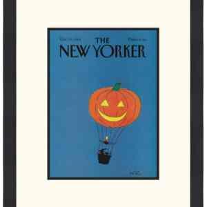 Original New Yorker Cover October 29, 1984