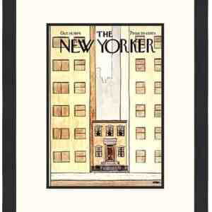Original New Yorker Cover October 14, 1974