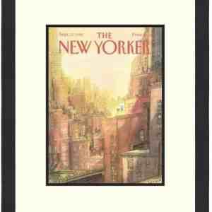Original New Yorker Cover September 12, 1988