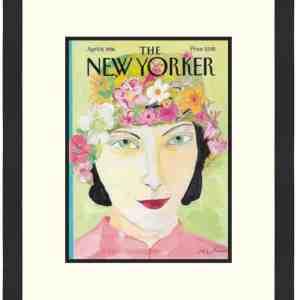 Original New Yorker Cover April 8, 1996