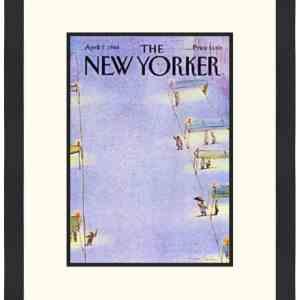 Original New Yorker Cover April 7, 1986