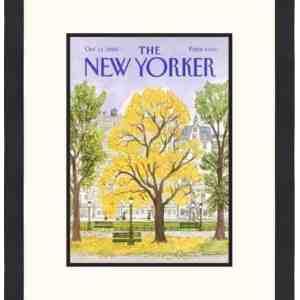 Original New Yorker Cover October 14, 1985