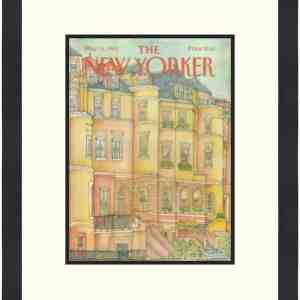 Original New Yorker Cover May 14, 1984